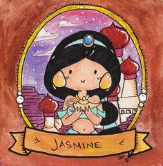 Original Watercolor Painting - Jasmine