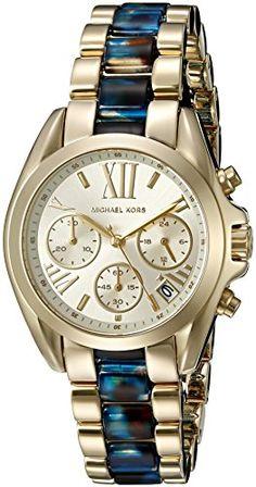 b6669558698 Michael Kors Womens Mini Bradshaw GoldTone Watch MK6318   Read more reviews  of the product by