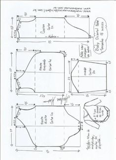 Risultati immagini per molde de body para bebe Baby Dress Patterns, Baby Clothes Patterns, Baby Doll Clothes, Kids Patterns, Toddler Outfits, Baby Boy Outfits, Fashionista Kids, Boys Clothes Style, Baby Body