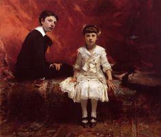 John Singer Sargent, Edouard and Marie Louise Pailleron, 1881