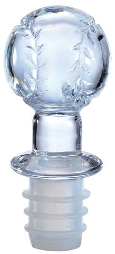 Sports Fan Baseball Wine Bottle Stopper Acrylic Clear For Every Wine In Style ONLY $2.99