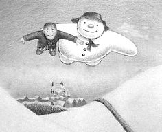 Coloring Sheets for The Snowman by Raymond Briggs Story