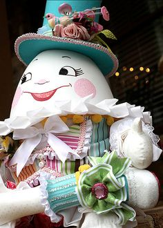 Homemade Humpty Dumpty with Handmade clothes by Cupcake Julie
