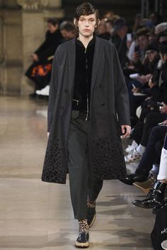 Male Fashion Trends: Kolor Fall/Winter 2016/17 - Paris Fashion Week