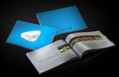 Waterfront Brochure by Clem Nr, via Behance