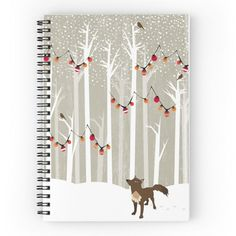 December notebook from redbubble!!!