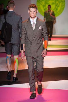 Coleção // Versace MEN, Milão, Verão 2014 RTW // Foto 10 // FFW
