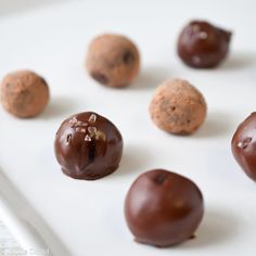 Chocolate Stout Truffles