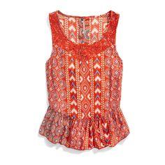 Stitch Fix Summer Styles: Printed Peplum Top