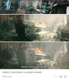 Nobody would know. XD XD XD Age of Ultron