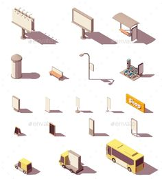 Find Vector Isometric Outdoor Advertising Media Set stock images in HD and millions of other royalty-free stock photos, illustrations and vectors in the Shutterstock collection. Isometric Art, Isometric Design, What Is Fashion Designing, Video Game Development, Principles Of Art, Street Furniture, Drawing Skills, Advertising Design, Vector Design