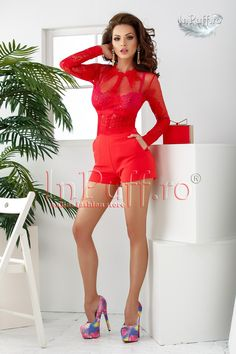 salopeta eleganta scurta rosie cu broderie si tul Bodycon Dress, Shoes, Dresses, Fashion, Tulle, Lady, Embroidery, Vestidos, Moda