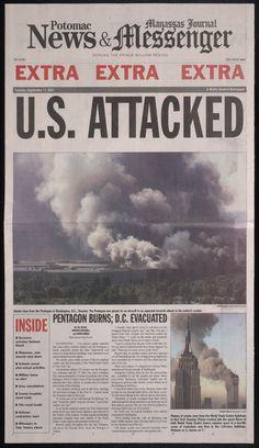 Manassas Journal .. news of 9/11  and Manassah