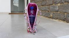 Olá Vamos fazer ? Bolsa Porta Garrafinha de Água , Com Arte de Paninho !!!