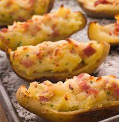 Baked Potato Skins | Simple Dish | Quick, Easy, & Healthy Recipes for Dinner
