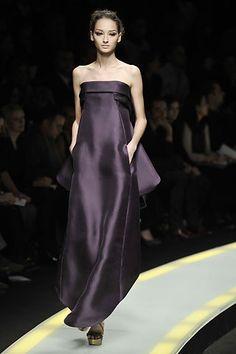 Versace Fall 2008 Ready-to-Wear Fashion Show - Daria Werbowy