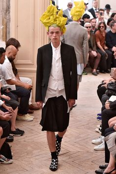 Comme des Garçons Homme Plus Spring Summer 2016 Primavera Verano #Menswear #Trends #Tendencias #Moda Hombre - Paris Fashion Week - F.Y!