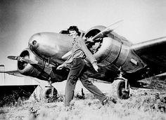 Amelia Earhart's Lockheed Electra.