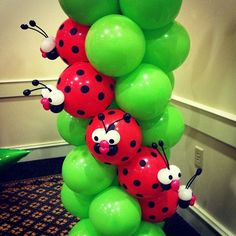 Pink Ladybug Birthday Party Decorations – New Party Decorating Ideas Balloon Crafts, Balloon Decorations Party, Birthday Party Decorations, Balloon Ideas, Stage Decorations, Pink Ladybug Birthday, Ladybug Party, Sculpture Ballon, Deco Ballon