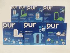 PUR Water Filters - PUR Water Filter Systems