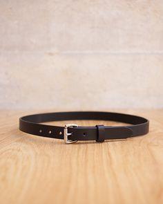 tanner goods - skinny standard belt