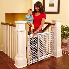 North States Plastic Stairway Gate *** Want to know more, click on the image.