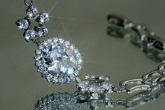 Created Diamond bracelet - 18.5-21.5cm. $42.99 / £24.99