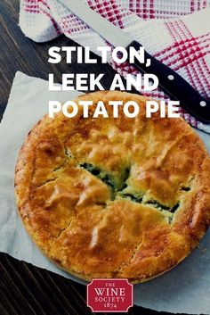 Stilton, Leek and Potato Pie. This easy recipe is a comforting, meat-free dinner that will stick pleasantly to your ribs, and empty the veg rack. Using a pack of ready-made pastry makes this a quick and easy dish to make on a week-day evening. Cheese Recipes, Fish Recipes, Cooking Recipes, Cuban Recipes, Potato Recipes, Leek Recipes, British Recipes, Scottish Recipes, African Recipes
