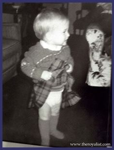 Prince William - first kilt at Balmoral