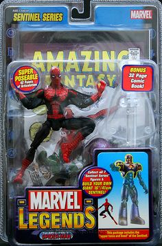 Marvel Legends Sentinel Series First Appearence Spider-Man