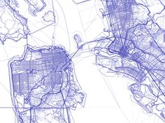 stamen design   OpenStreetMap: Every Line Ever, Every Point Ever