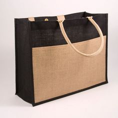 Jute Tote Bag with Personalized Embroidery Includes Matching Cosmetic Pouc. - Totes, purses, and bags Jute Bags Manufacturers, Shopping Bag Design, Jute Tote Bags, Diy Handbag, Handbag Storage, Fab Bag, Fabric Bags, Woven Fabric, Wholesale Bags
