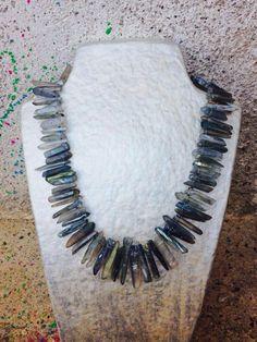 maxi collar cristalls labradorite