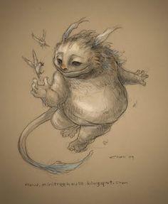 creature, gostei da criação, desde sempre gostei de criar criaturas, so que elas nao são tão legais assim