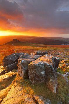 Dartmoor National Park . UK