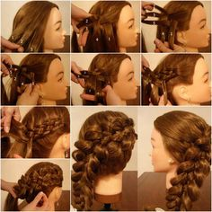 How to Weave Five Strand Diagonal French Braid Hairstyle | iCreativeIdeas.com Follow Us on Facebook --> https://www.facebook.com/icreativeideas