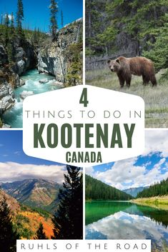 The best things to do in Canada! Visit Kootenay National Park with this awesome National Parks road trip & Canada travel guide. A great road trip destination from Vancouver, British Columbia. Kootenay is one of the best places in Canada & a place not to miss during a trip to Canada. The best 4 things to do in Kootenay Canada including hiking to Stanley glacier & Paint Pots. How to find free campsites in our National Park camping guide. #kootenay #canada #nationalpark #camping #thingstodo