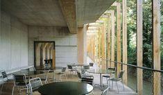 outdoor cafe view, by the waterfront ' Buchner Bründler Architekten