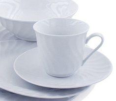 6 Pink Rose Bulk Porcelain Inexpensive Teacups (Tea Cups) & Saucers ...