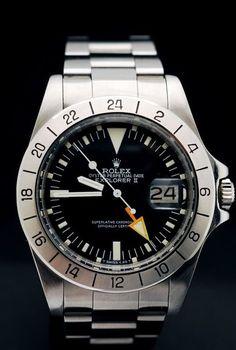 Montre Rolex Explorer 2 #style #menstyle #watches #rolex #explorer #mode #homme #montres