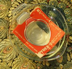 NOS Vintage Pyrex Swedish Teardrop Teardrop by EleanorMeriwether, $48.00