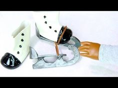 ▶ How to Make Doll Ice Skates - YouTube