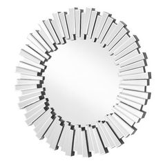 94254d05c028 Wheless Contemporary Round Accent Mirror