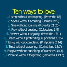 Ten Ways To Love | Women Tattoo Ideas