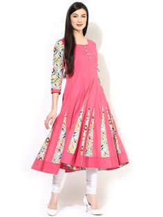 Here are the 15 best anarkali kurtis for women in India. You can try these anarkali kurta designs as a party wear. Indian Tunic Tops, Frocks And Gowns, Cotton Anarkali, Kurti Collection, Kurta Designs, India Fashion, Women's Fashion, Stylish Dresses, Designer Dresses