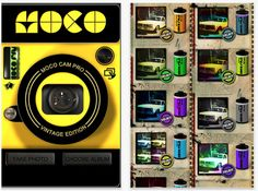 MOCO CAM PRO, vintage filter app is temporarily free today, why not give it a try out?