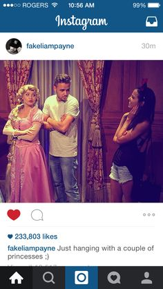 Liam posted this on Instagram of him and Sophia!! So cute!