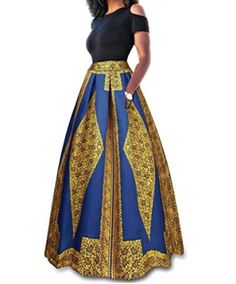 Maxi Skirt Style, Dress Skirt, Skirt Set, African Print Dresses, African Fashion Dresses, African Clothes, African Prints, African Dress, Printed Maxi Skirts