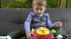 Детская Интерактивная Игрушка Руль; Звоним папе по игрушечному телефону