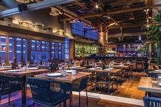 Cafe Bar, Cafe Restaurant, Greek Restaurants, Interior Architecture, Interior Design, Coffee Shops, Wooden Tables, Athens, Warehouse
